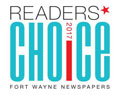 Fort Wayne Reader's Choice Award 2017